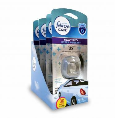 Febreeze Car Clip package