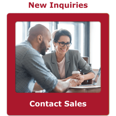 Sales contact button