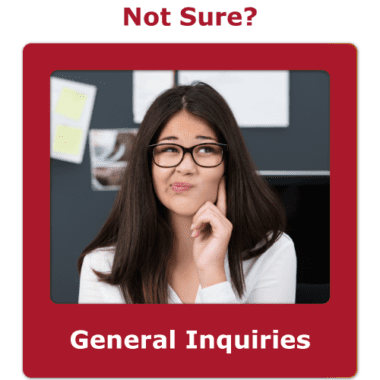 General inquiries contact button