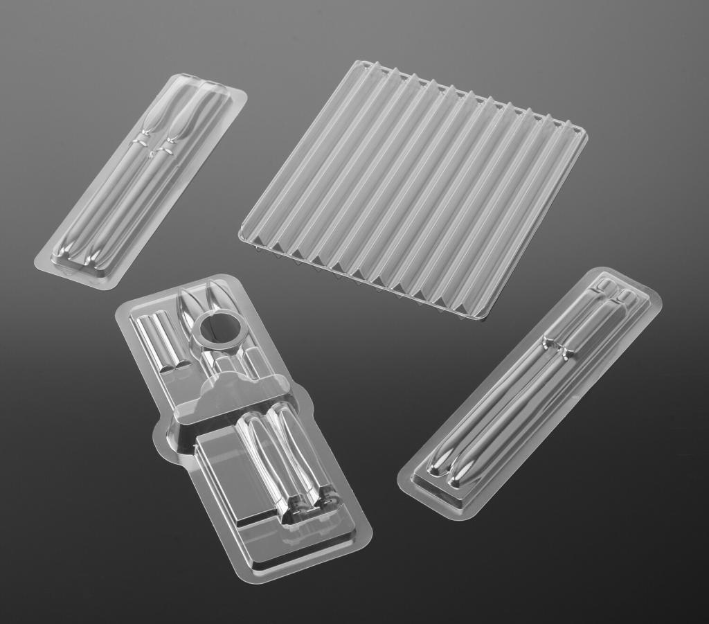 Pen blister packaging grouping